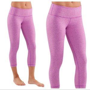 Lululemon | Wunder Under Crop Workout Pants